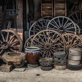 Wheels of Takayama by Ido Ben-Itzhak - Artistic Objects Antiques
