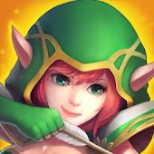 Game Heroes Tactics: War && Strategy apk for kindle fire