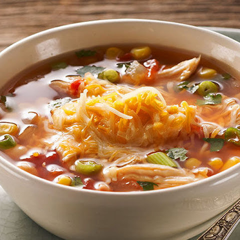 Hearty Mexican Chicken Soup