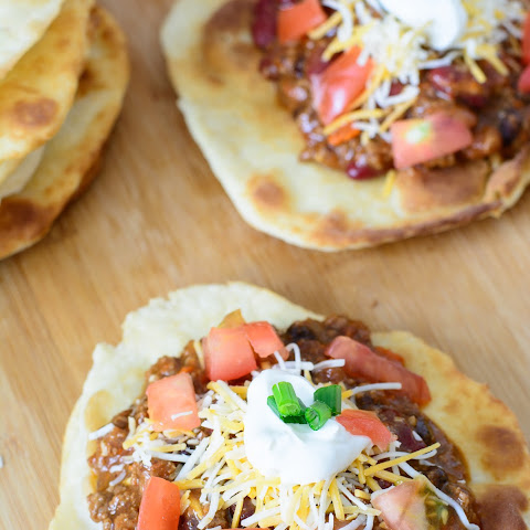 Simple Navajo Taco Fry Bread