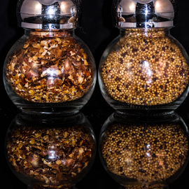 Herbal remedy by Garry Chisholm - Food & Drink Ingredients ( ingredients, garry chisholm, herbs, food, jars )