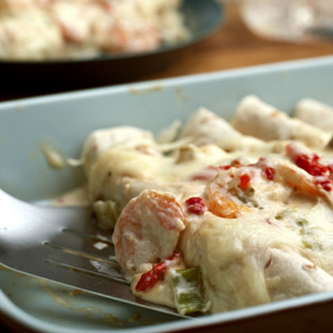 Campbell's Shrimp Enchiladas