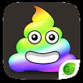 GO Keyboard Sticker Color Poop APK for Bluestacks