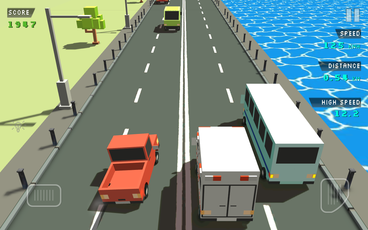 Blocky Traffic Racer Screenshot 5