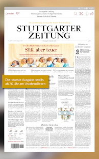 app stuttgarter zeitung epaper apk for windows phone android games and apps. Black Bedroom Furniture Sets. Home Design Ideas