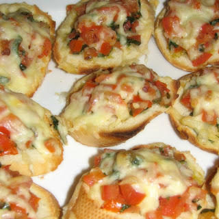 Fresh Tomato and Basil Bruschetta