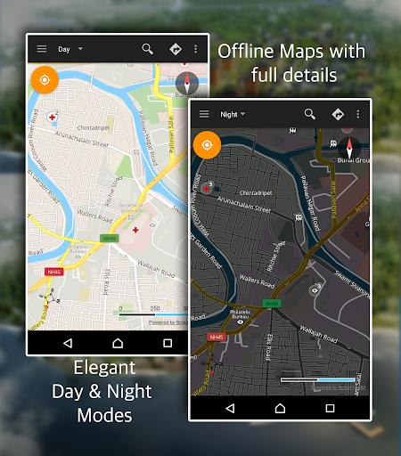 GPS Driving Route - screenshot