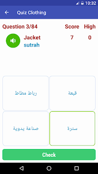 Learn Arabic Free 9000 Words And Phrases APK screenshot thumbnail 7