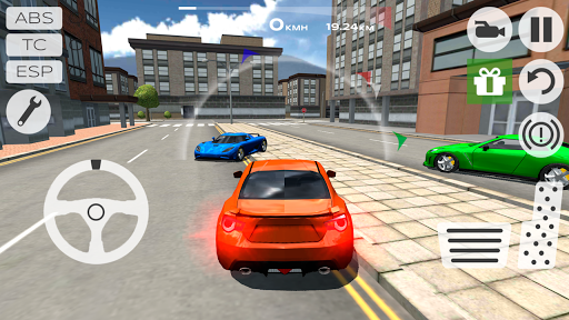 Multiplayer Driving Simulator - screenshot