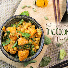 Thai Style Chicken Panang Neua With Kaffir Lime Leaves Recipe Recipe ...