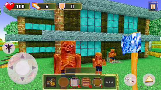 Game block craft fallout edition apk for kindle fire for Block craft 3d game online