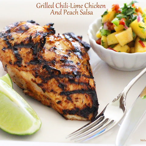 Grilled Chicken With Peach Salsa Recipes | Yummly