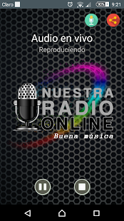 Nuestra Radio Online - screenshot