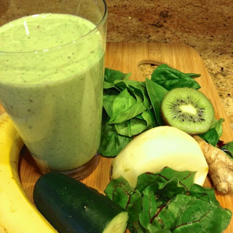 Green Goddess Smoothie Recept | Yummly