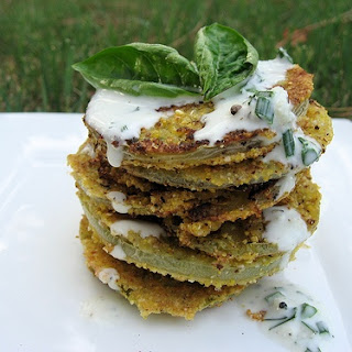 Nouveau Fried Green Tomatoes
