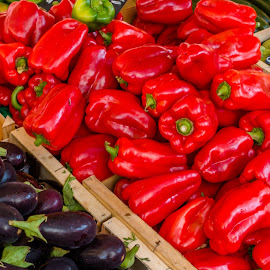 Peppers by Andrew Moore - Food & Drink Fruits & Vegetables