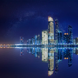 Abu Dhabi Cityscape by Franz Yañez - Novices Only Landscapes