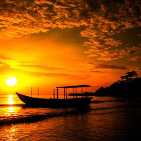 Pantai Tanjung Kelayang by Zlatan Dawamovic - Landscapes Sunsets & Sunrises