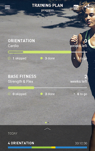 android adidas train & run BETA Screenshot 4
