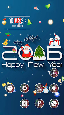 android Dress Up Christmas Screenshot 1