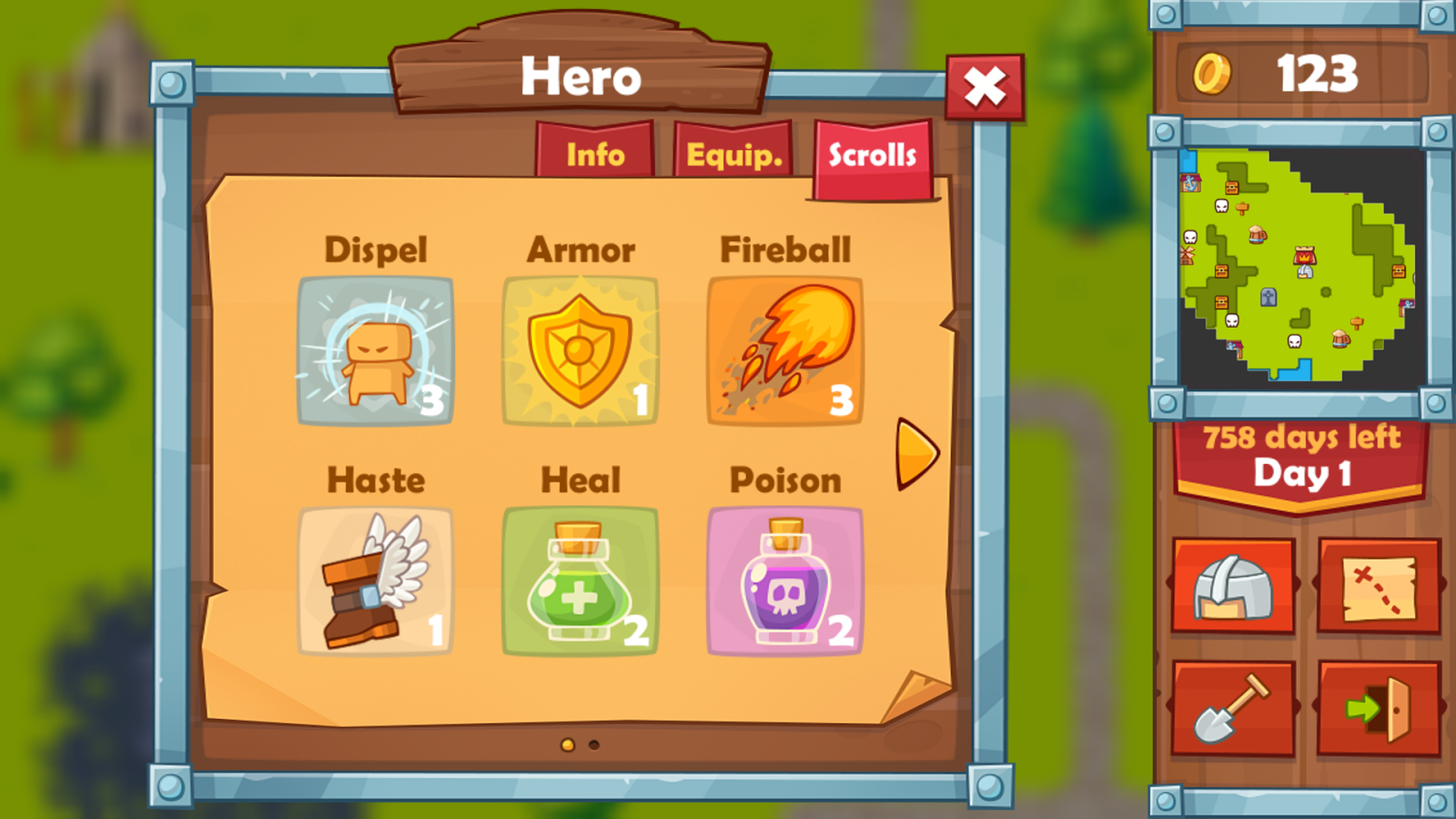 Heroes 2 : The Undead King Screenshot 4