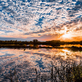 Clouds  by Mike Hotovy - Landscapes Cloud Formations