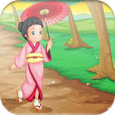 Cute Asian Girls game for Kids