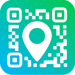 Geotag QR Code Reader & Barcode scanner app Icon