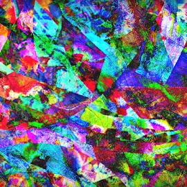 2037 Beyond Grasp by Joel Bowers - Illustration Abstract & Patterns ( modern, abstract, digita, painting )
