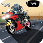 VR Moto Bike 3D Racing Icon