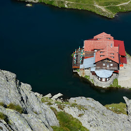 Balea Chalet by Sorin Lazar Photography - Buildings & Architecture Other Exteriors ( transfagarasan, nature, altitude, colors, summer, lake, balea, romania, travel, places, chalet )
