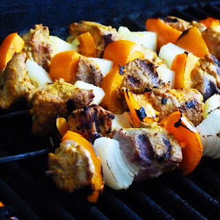 Grilled Indian Pork Kabobs