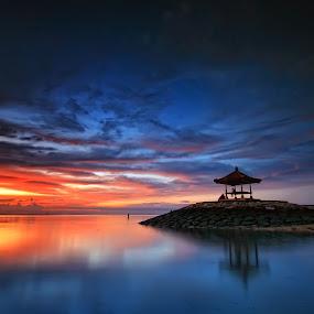 Sanur lagi :) by Linggar Saputra I Wayan - Landscapes Sunsets & Sunrises