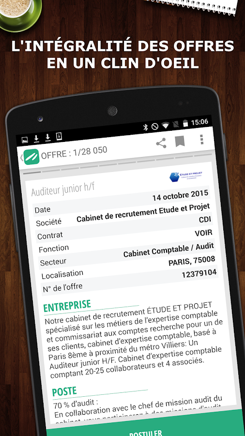 Keljob : Emploi, Job et Stage Screenshot 3