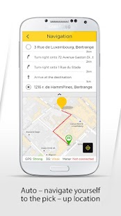 Limocab for driver - screenshot