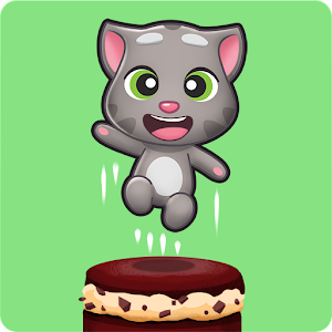 Talking Tom Cake Jump Online PC (Windows / MAC)