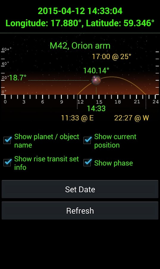 Planet Finder + Screenshot 9