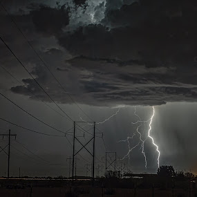 More Power by Scott Wood - Landscapes Weather ( lightning, desert, monsoon, arizona, storm chasing, storms )