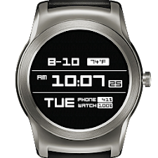 Gash LCD Watch Face