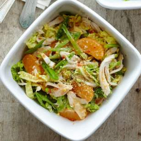 Chinese Chicken Salad with Citrus-Miso Dressing