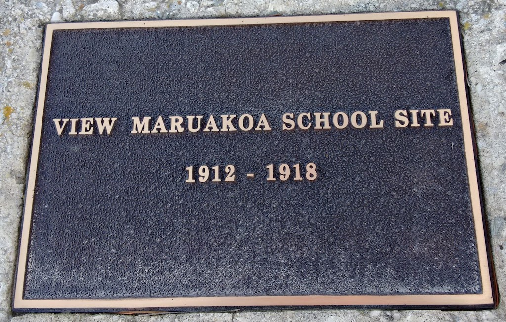 Transcript:View Marukoa School site1912 - 1918Submitted by:Judith Swan