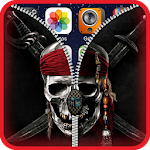 Pirate Lock Screen Zipper HD Icon