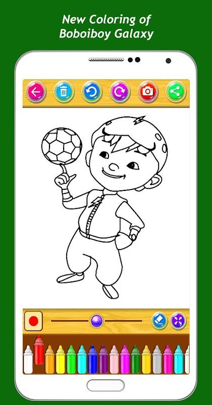 Best Coloring Kids Game Boboiboy APK