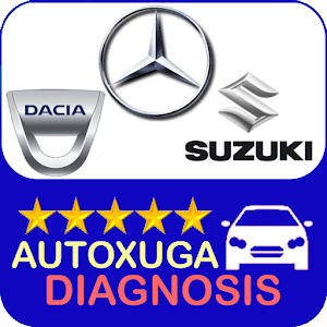 Mercedes, Dacia, Suzuki 3 scanner cars OBD2 ELM327 For PC