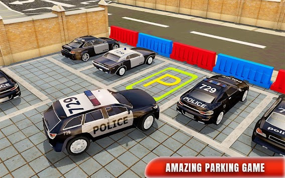 Police Car Parking Adventure 3D APK screenshot thumbnail 8