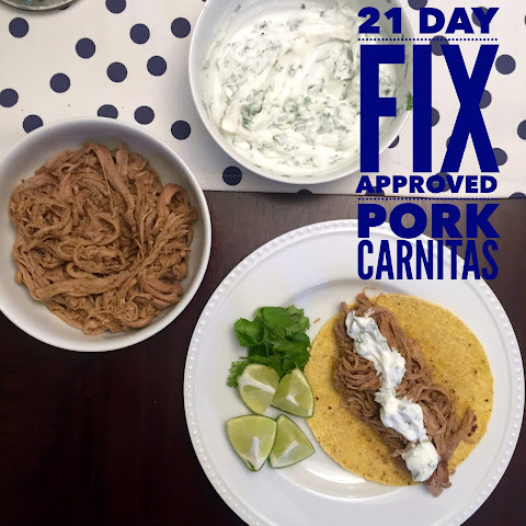Pork Carnitas – 21 Day Fix Approved