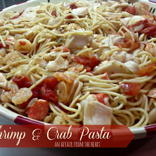 Garlic Shrimp And Crab Pasta Recipes
