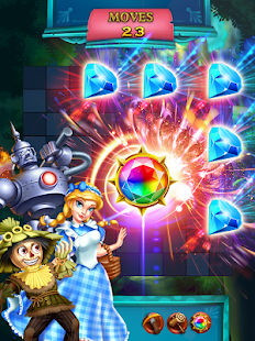 Jewels Star: OZ Abenteuer android spiele download