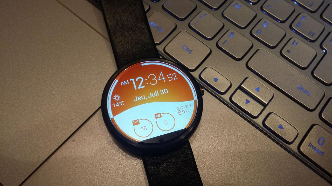 Morphing Watch Face Screenshot 4