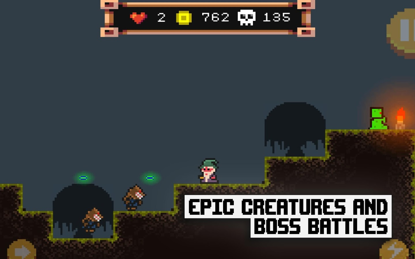 Pixel Wizard Adventures 2D Screenshot 11